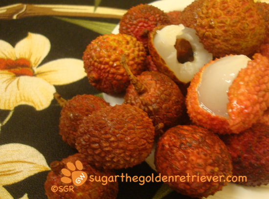 Mom says Lychee fruits...