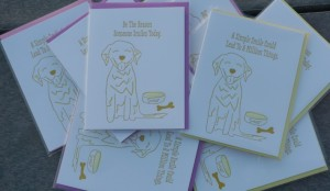 Golden Woofs SMILE Cards