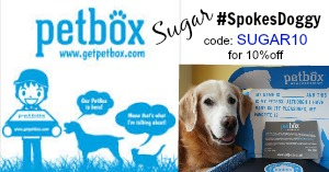 GetPetBox: Sugar #spokesdoggy SUGAR10 for 10%off