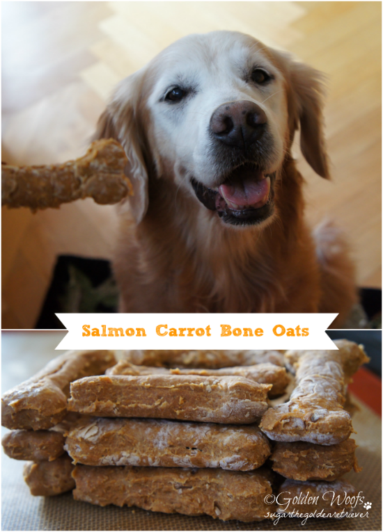 Salmon Carrot Bone Oats Dog Treat