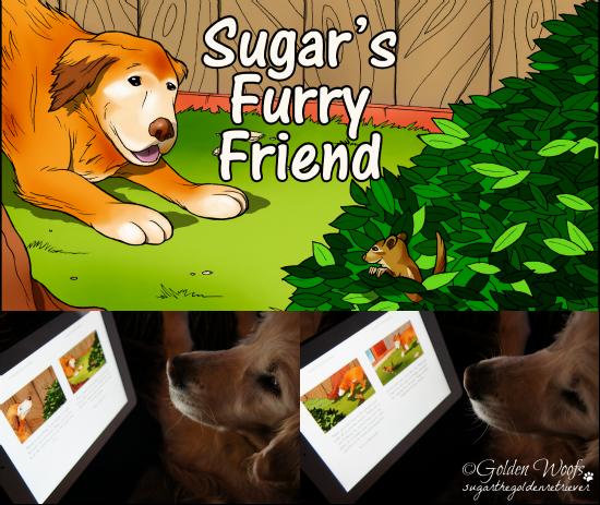 Sugar's Furry Friend on iPad: Sugar The Golden Retriever