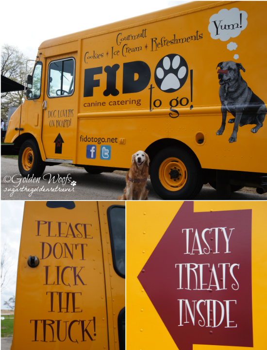 Tasty Treat Truck: Sugar The Golden Retriever