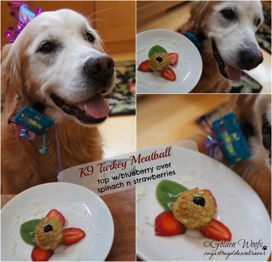 Barkday Meal Treat Rachael Ray S K9 Meatballs Golden Woofs