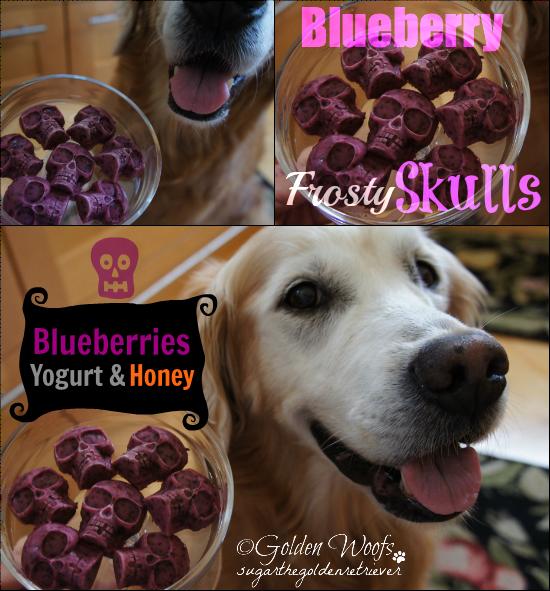 Blueberry Frosty Skulls