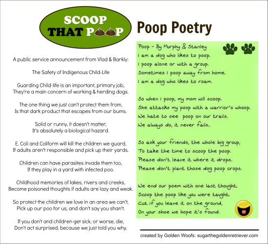 Scoop That Poop: Poop Poetry Entry #4