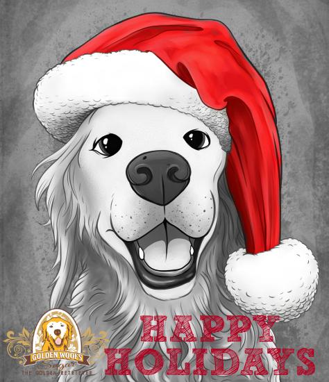 sgr_santa_blacknwhite_illustration