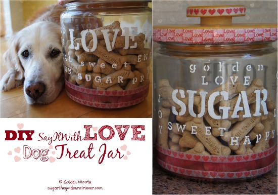DIY SayItWithLOVE Treat Jar