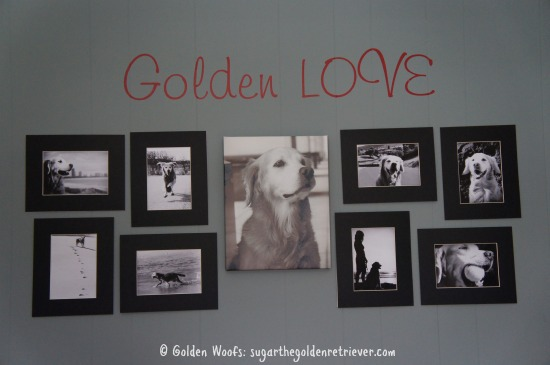 GoldenLOVE Black n White Sugar's Wall