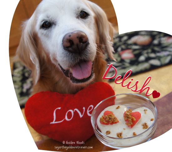 Sugar LOVE Delish Valentine's Day Frosty Treat
