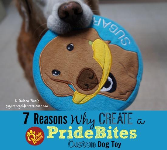 7 Reasons Why Create a PrideBites Custom Dog Toy