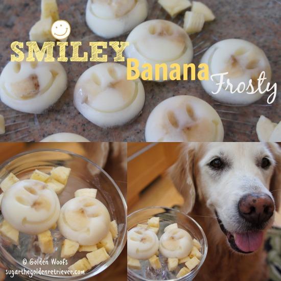 Smiley Banana Frosty