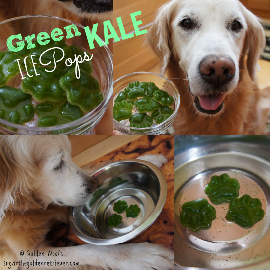 Green KALE Ice Pops