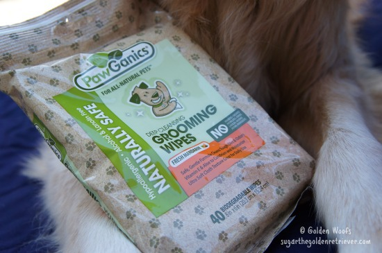 PawGanics Grooming Wipes JulyPetBox