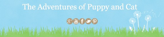 adventures of puppy cat blog