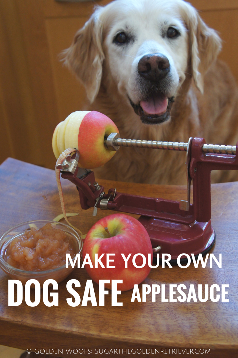 Homemade Dog Safe Applesauce