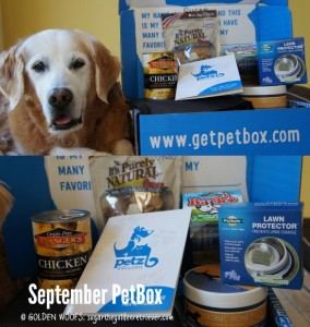 PetBox September Pet Subscription Box