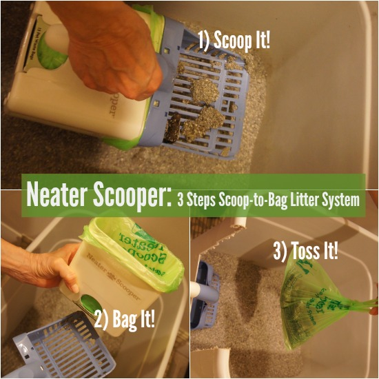 Neater Scooper for Cat Litter