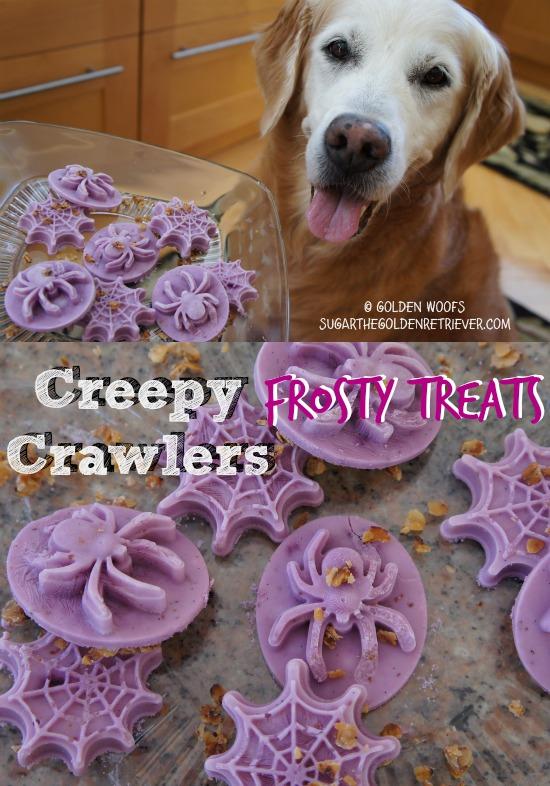 CREEPY Halloween Frosty Dog Treats