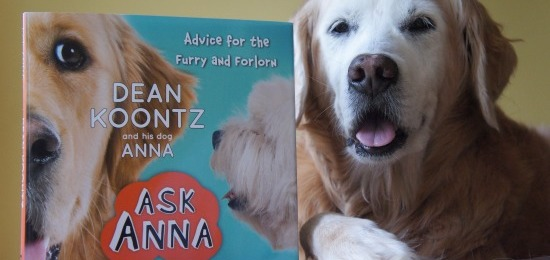 Dean Koontz and His Dog ANNA