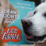 Ask ANNA Dean Koontz and his DOG
