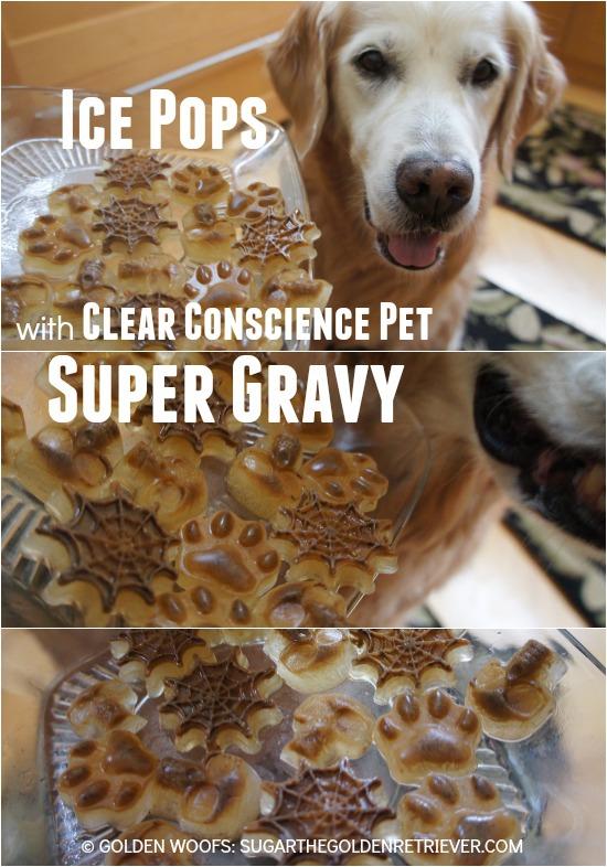 Ice Pops Clear Conscience Pet Super Gravy