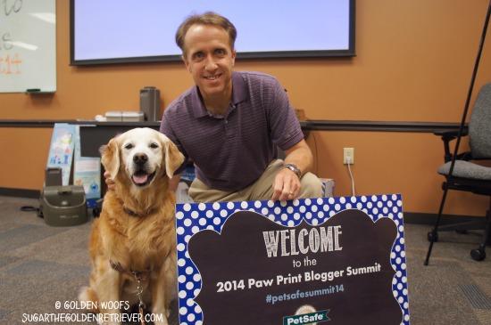 Jason Hart PetSafe Blogger Summit