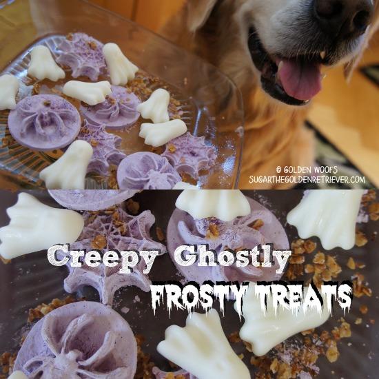 Creepy Ghostly Halloween Frosty Dog Treats