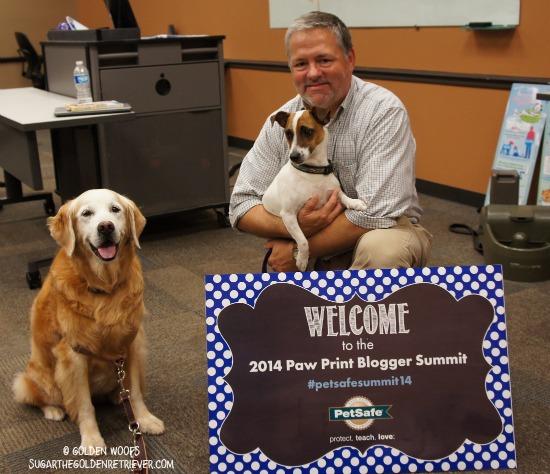 Jim Tedford PetSafe Blogger Summit