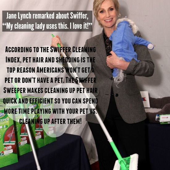 Fox's Cause for Paws Jane Lynch Swiffer