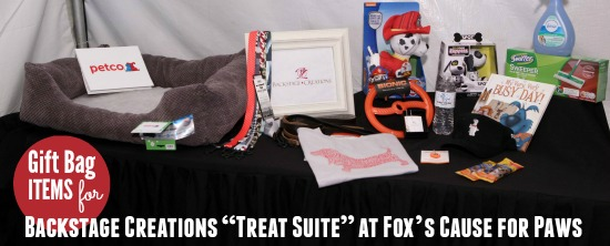 Cause for Paws Backstage Creations Gift Items