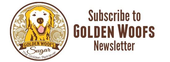 Golden Woofs Newsletter Sign-up