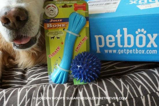 November PetBox Dog Toys