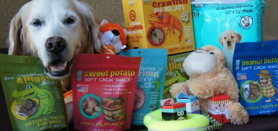 think!dog Alligator Dog Treats & Products Giveaway