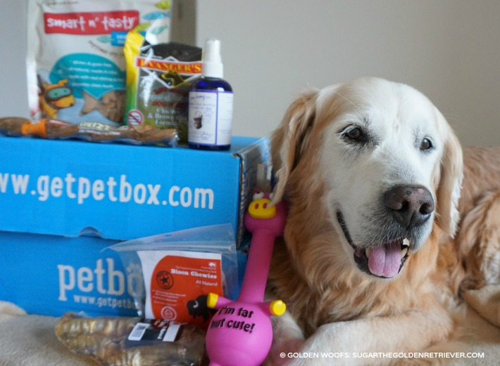January PetBox Pamper Your Pet
