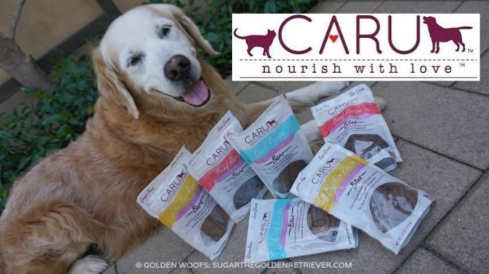 CARU Bites and Bars Dog Treats