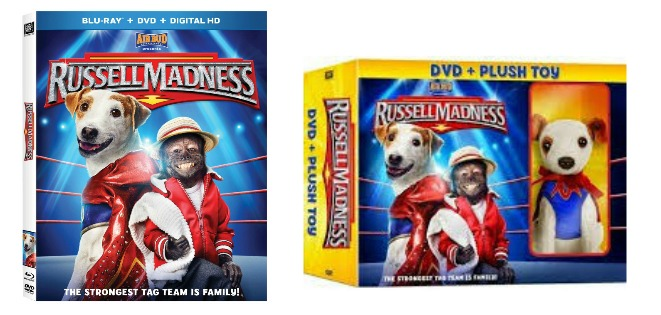 Russell Madness DVD + Plush Toy
