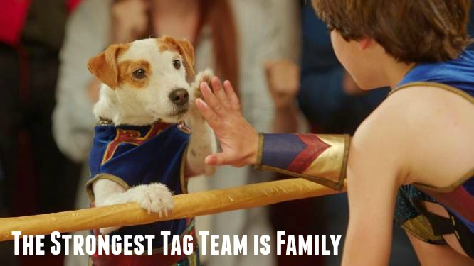 The Strongest Tag Team is Family