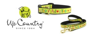 Up Country ADOPTED Dog Collar & Leash