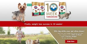 #PerfectWeight Hills Pet Sweepstakes