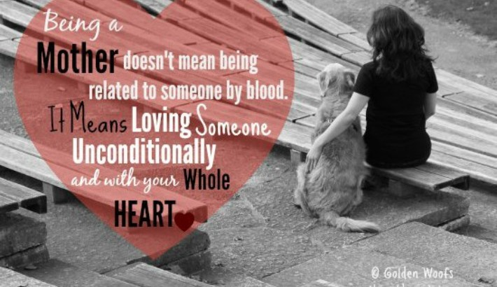 Golden LOVE To All Dog Moms