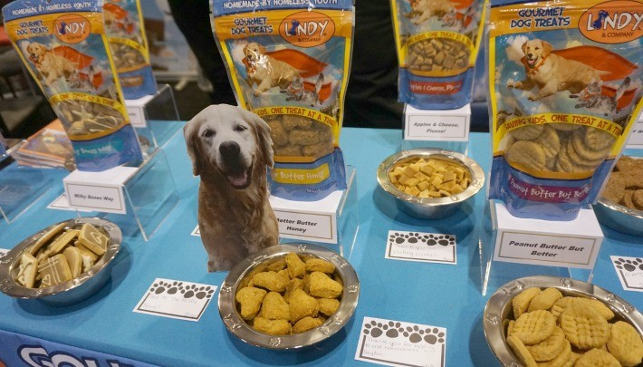 Lindy & Company Gourmet Pet Treats by Homeless Youth