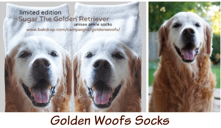 Golden Woofs Socks