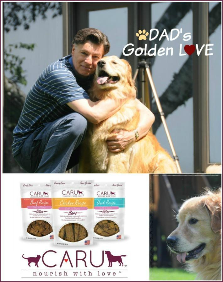 Dog Dad Caru Pet: Treats Giveaway