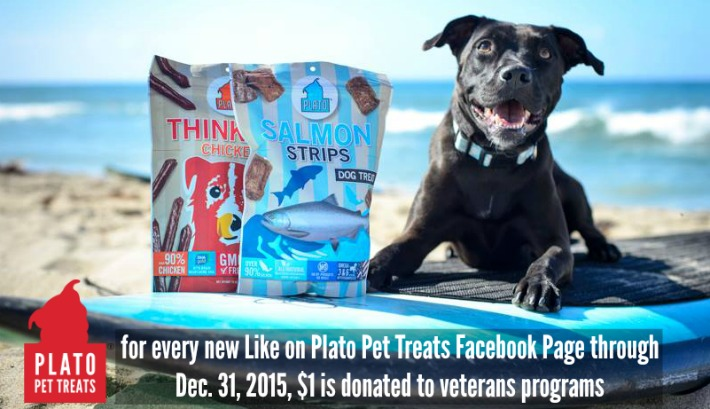 Plato Pet Treats Facebook Campaign