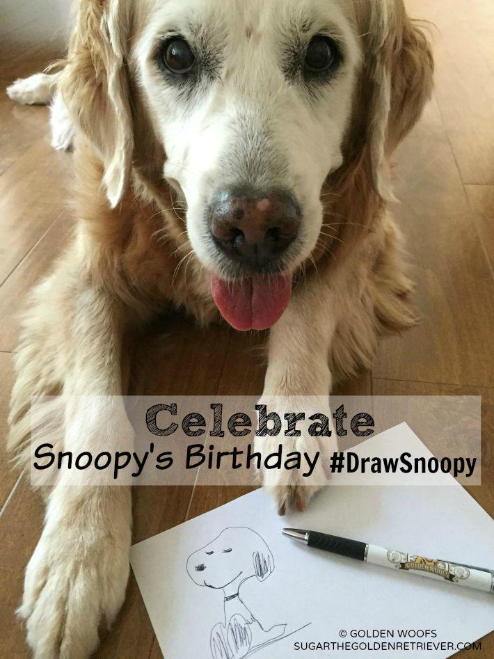 Draw Snoopy Birthday & The Peanuts Movie