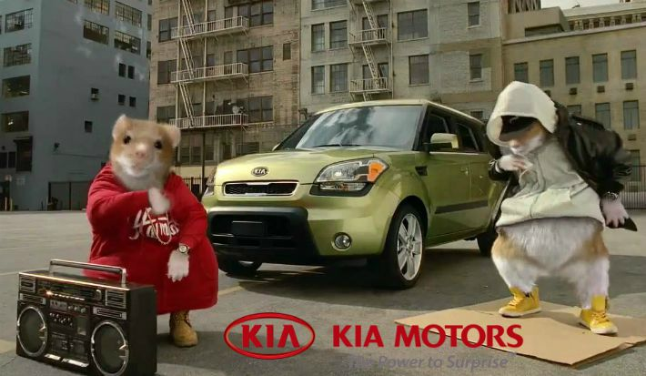 Kia Soul Commercial >> Hamsters Kia Soul Commercial Golden Woofs