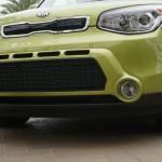 Kia Soul Alien green color