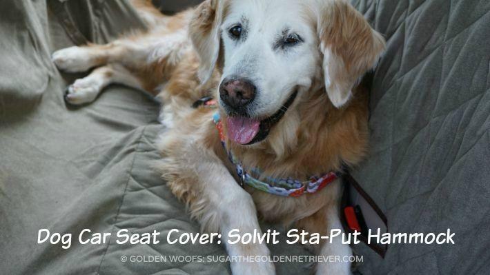 Dog Car Seat Cover: Solvit Sta-Put Hammock