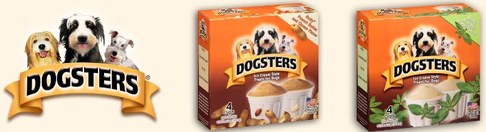 Dogsters Ice Cream Two Flavors