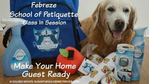 Make Your Home Guest Ready with Febreze #Petiquette